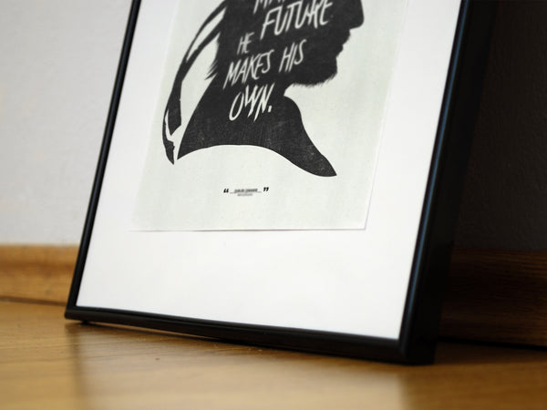 """A Strong Man.."" and ""I Will..."" - Discount Bundle - MGS Videogame Inspired Motivational Art Poster Prints - Geek Print"