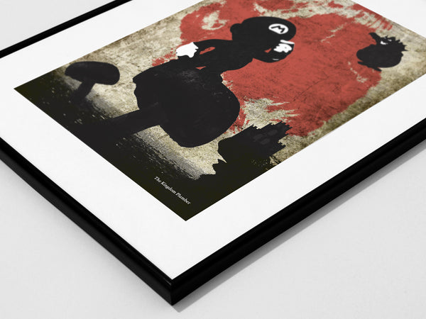 """Fastest Thing Alive/Kingdom Plumber"" - Discount Bundle - Video Game Inspired Art Poster Prints - Geek Print"