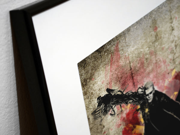 """The Uroboros"" - Survival Horror Video Game Inspired Art Poster Print - Geek Print"