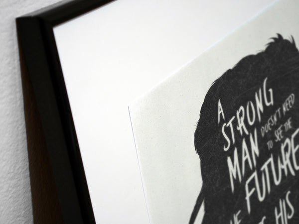 """Strong Men..."" - MGS Video Game Inspired Motivational Art Poster Print - Geek Print"