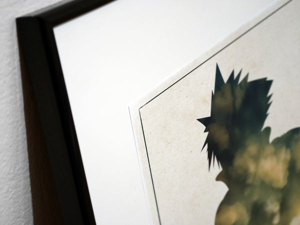"""My Living Legacy"" - 3 Piece Final Fantasy VII Seven: Advent Children Poster Set - Geek Print"