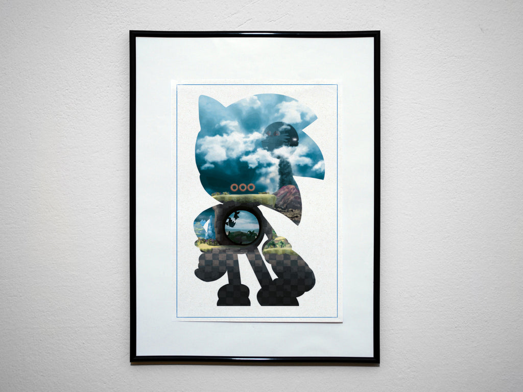 """Speed Demon"" - Video Game Anime Inspired Art Poster Print - Geek Print"
