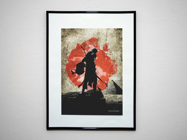 """The Son of the Medjay"" - Assassins Origins Video Game Inspired Art Poster Print - Geek Print"