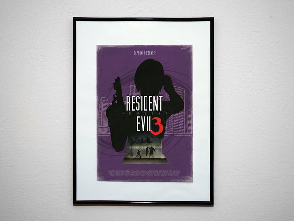 """RESI 1-4 Collection"" Discount Bundle - Video Game Inspired Minimalist Art Poster Prints - Geek Print"