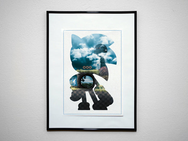 """4 Piece Mascot Collection"" - Discount Poster Deal - Video Game Inspired Minimalist Art Prints - Geek Print"