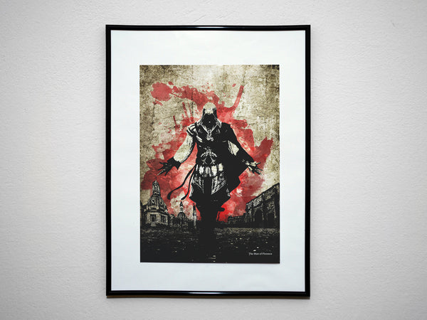 """ASSASSINS"" - Discount Bundle - Video Game Inspired Art Poster Prints - Geek Print"