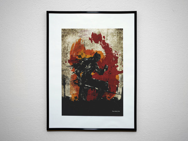 """Chosen Undead/Bearer of the Curse/Ashen One"" - Discount Print Bundle - DS Inspired Minimalist Video Game Art Prints - Geek Print"