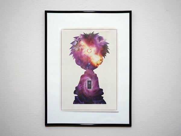 """Knowledge"" - Anime & Manga Inspired Art Poster Print - Geek Print"