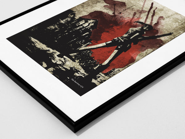 """Survivors of the City"" - Survival Horror Discount Bundle - Video Game Inspired Art Poster Prints - Geek Print"