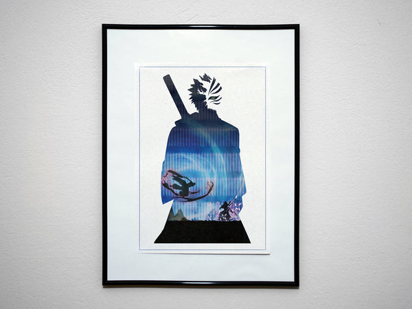 """Hollow"" - Anime & Manga Inspired Art Poster Print - Geek Print"