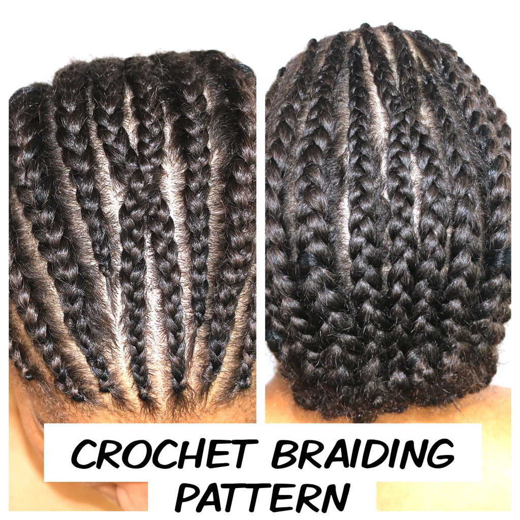 How to do a crochet braiding pattern!