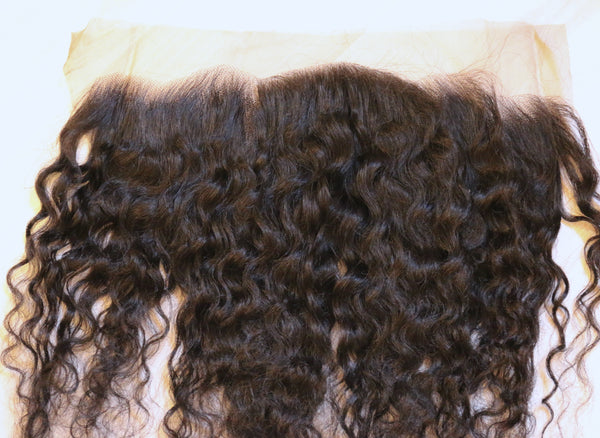 Divine Deep Curly Frontal - Trendy Tresses
