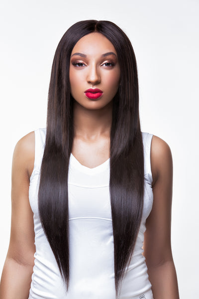 Exquisitely Straight Frontal - Trendy Tresses