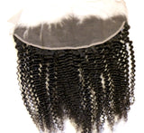 Glorious Kinky Curly Frontal - Trendy Tresses