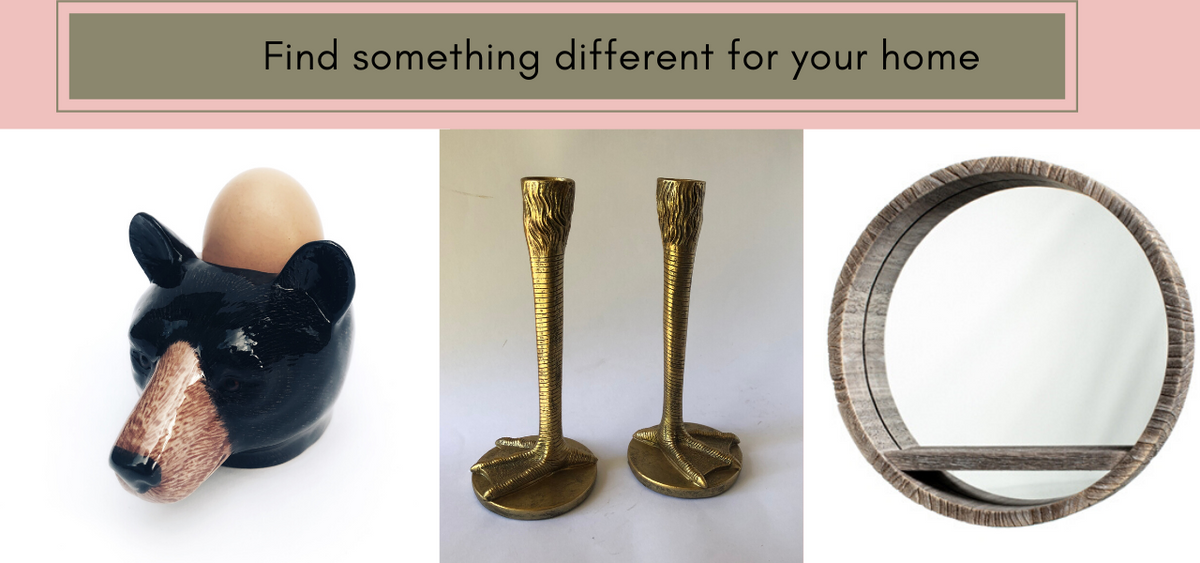 Home accessories and quirky gifts