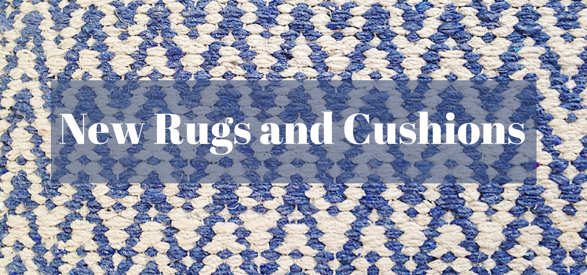 New  Modern Rugs and Cushions