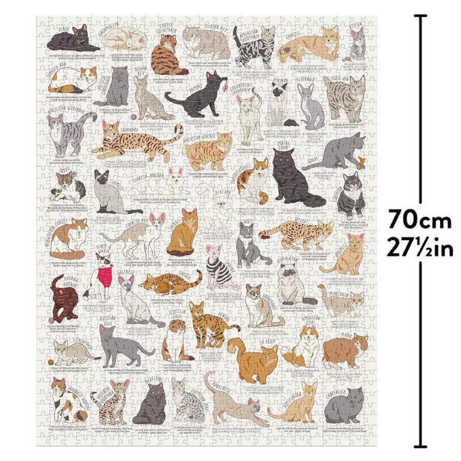 Cat Lovers Jigsaw -1000 piece