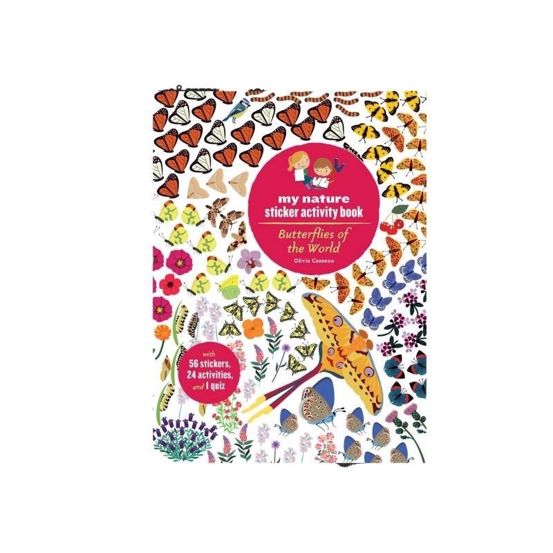 Butterflies of the World- Nature Sticker Activity Book