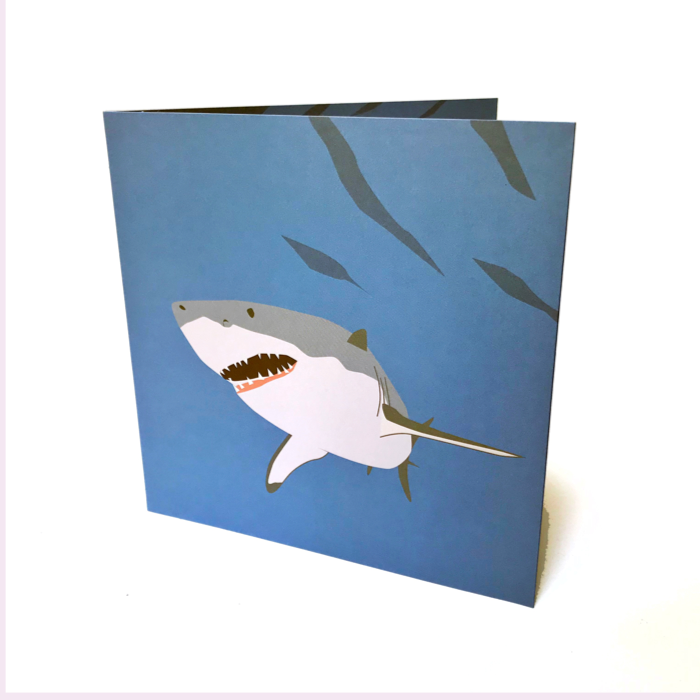 Shark Pop up 3D card