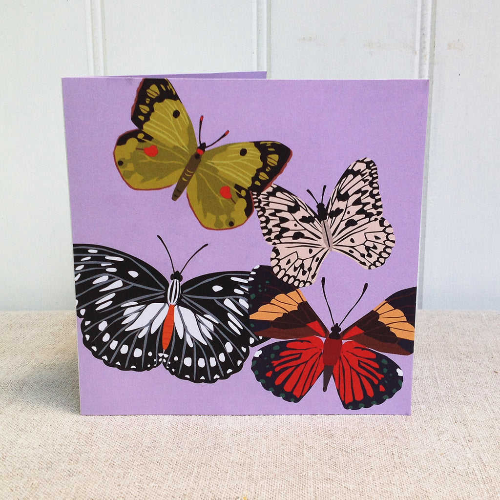 Butterflies pop up 3D card