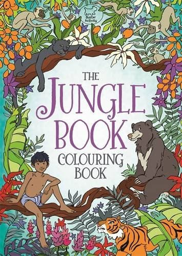 The Jungle Book -colouring book