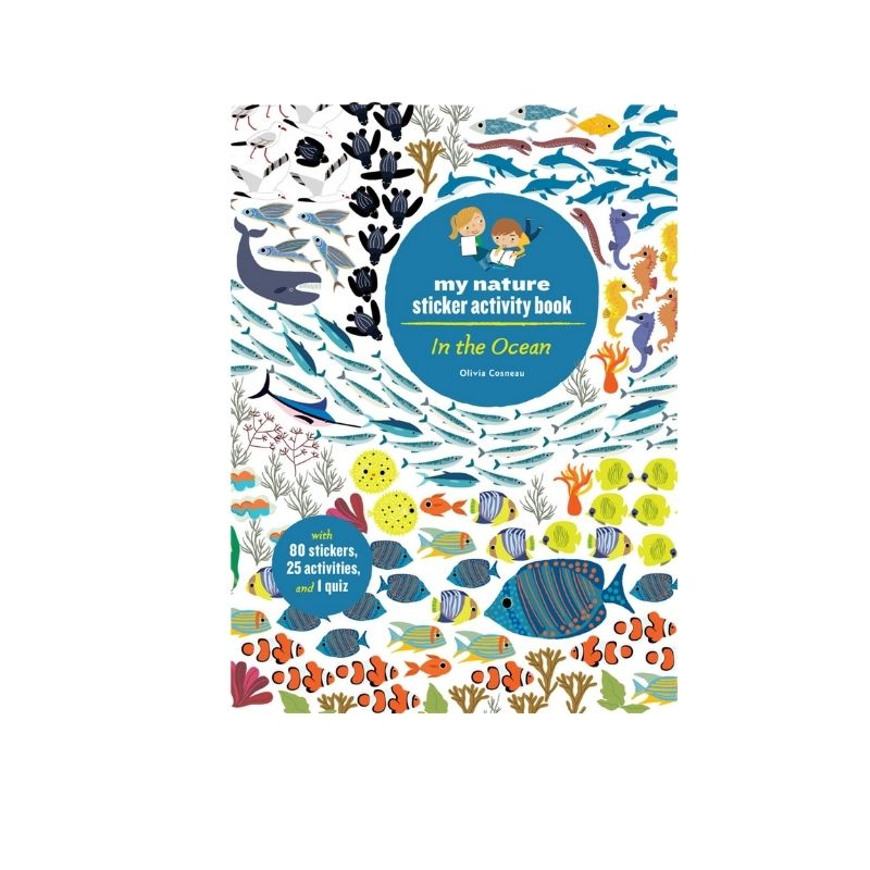 In the Ocean- My nature sticker Book