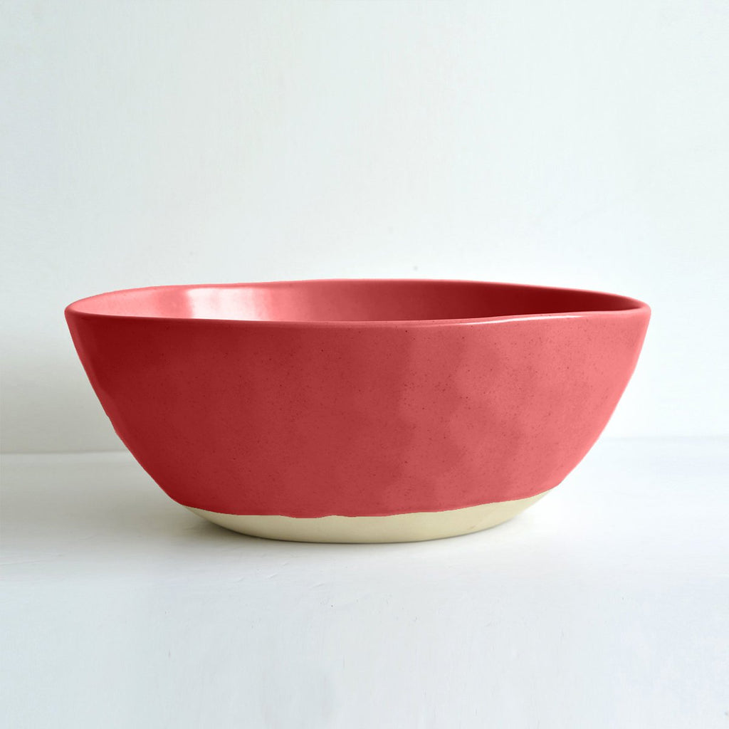Hand Made Serving Bowl - Beetroot