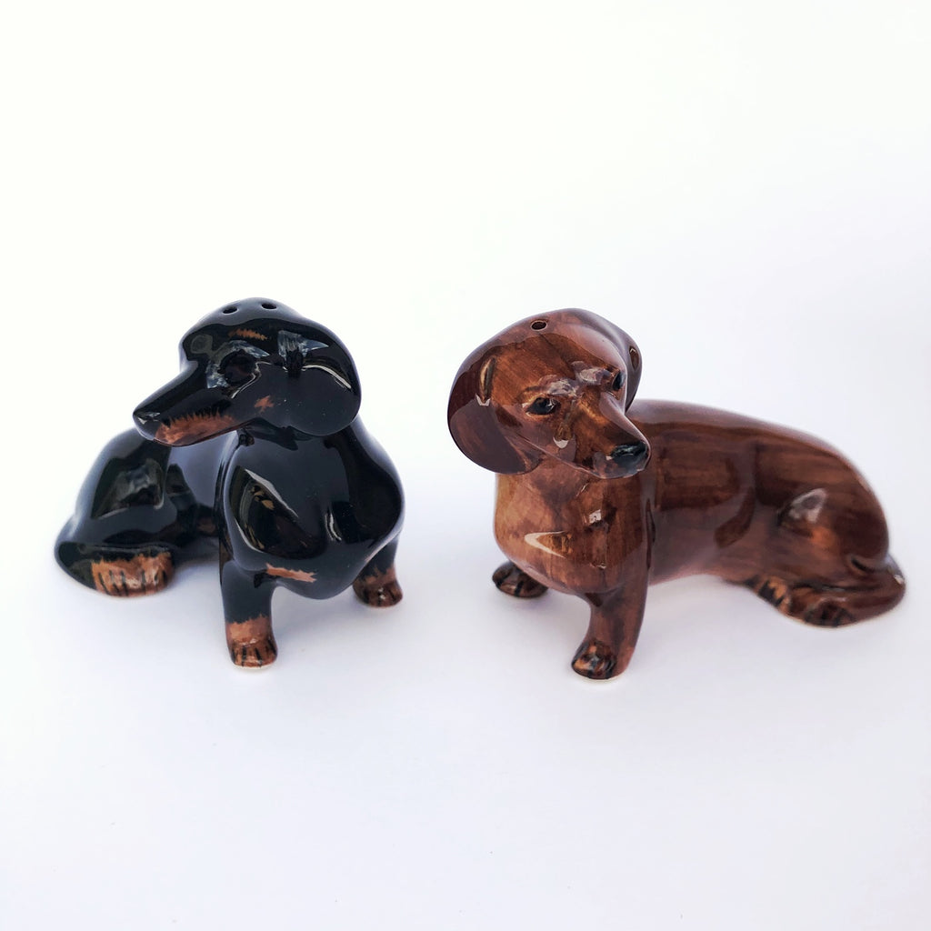 Dachshund salt & pepper