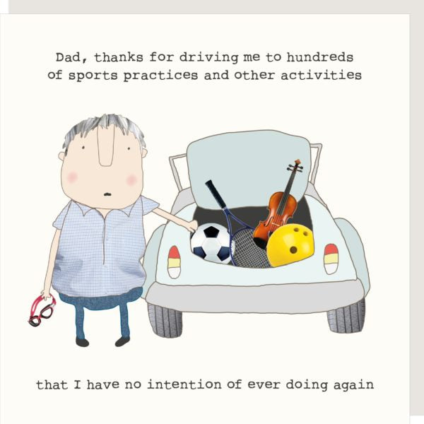 Driving Dad - Fathers Day Card