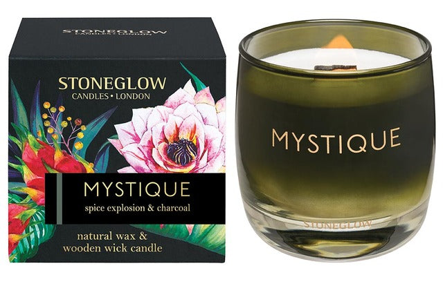 Mystique - Spice explosion and charcoal Candle