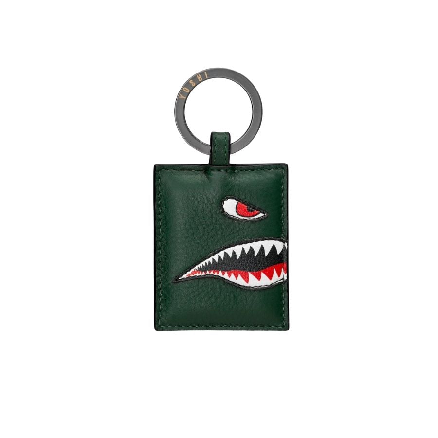 Flying Tigers Leather Keyring