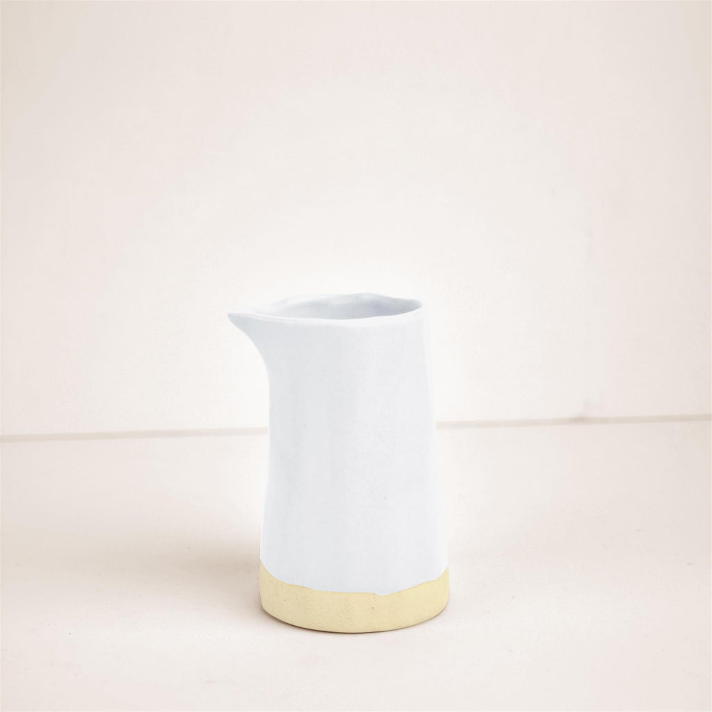 Hand made Mini Carafe -White