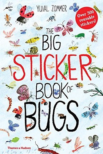 Big sticker book of Bugs