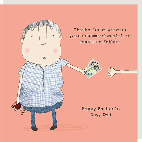 Dreams of Wealth- Fathers Day Card