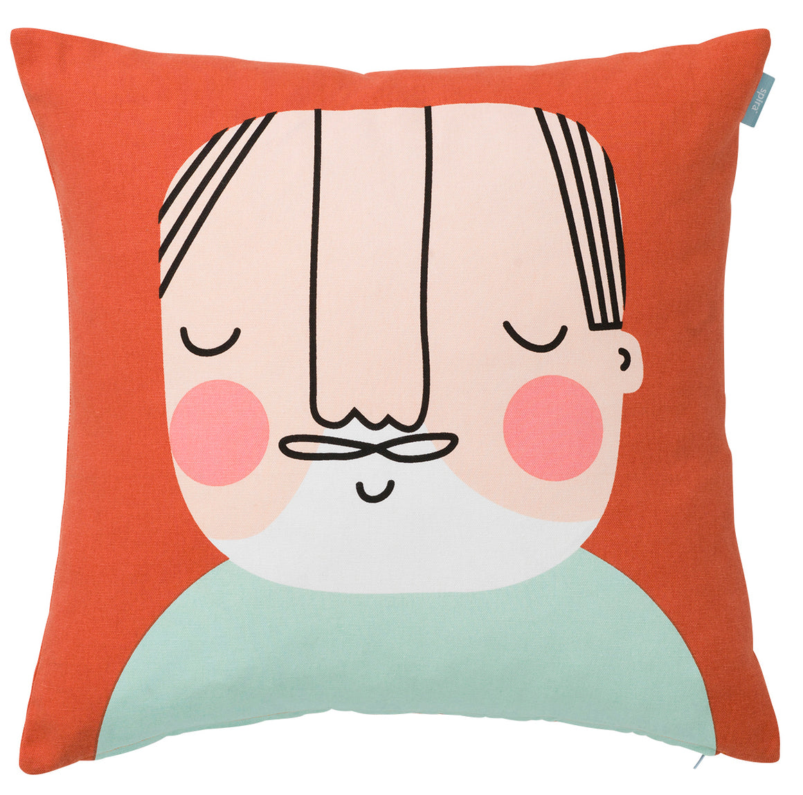 Ake face cushion-by Spira of Sweden