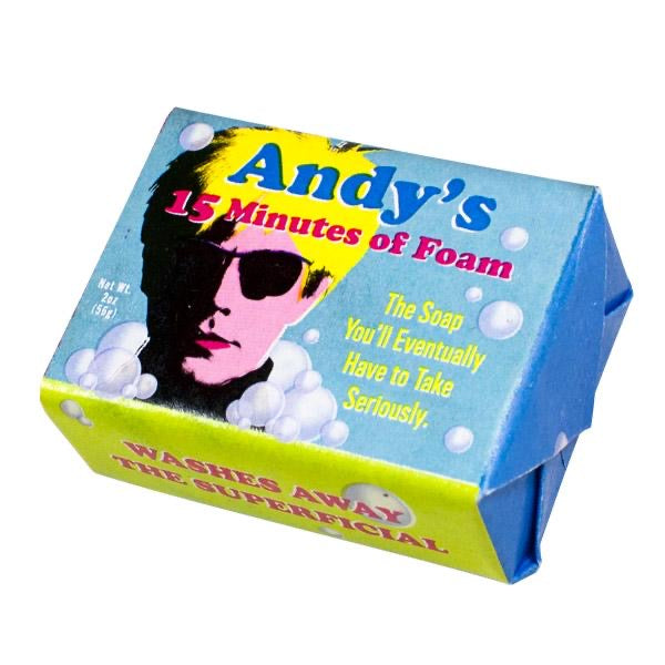 Andy's 15 mins of foam soap