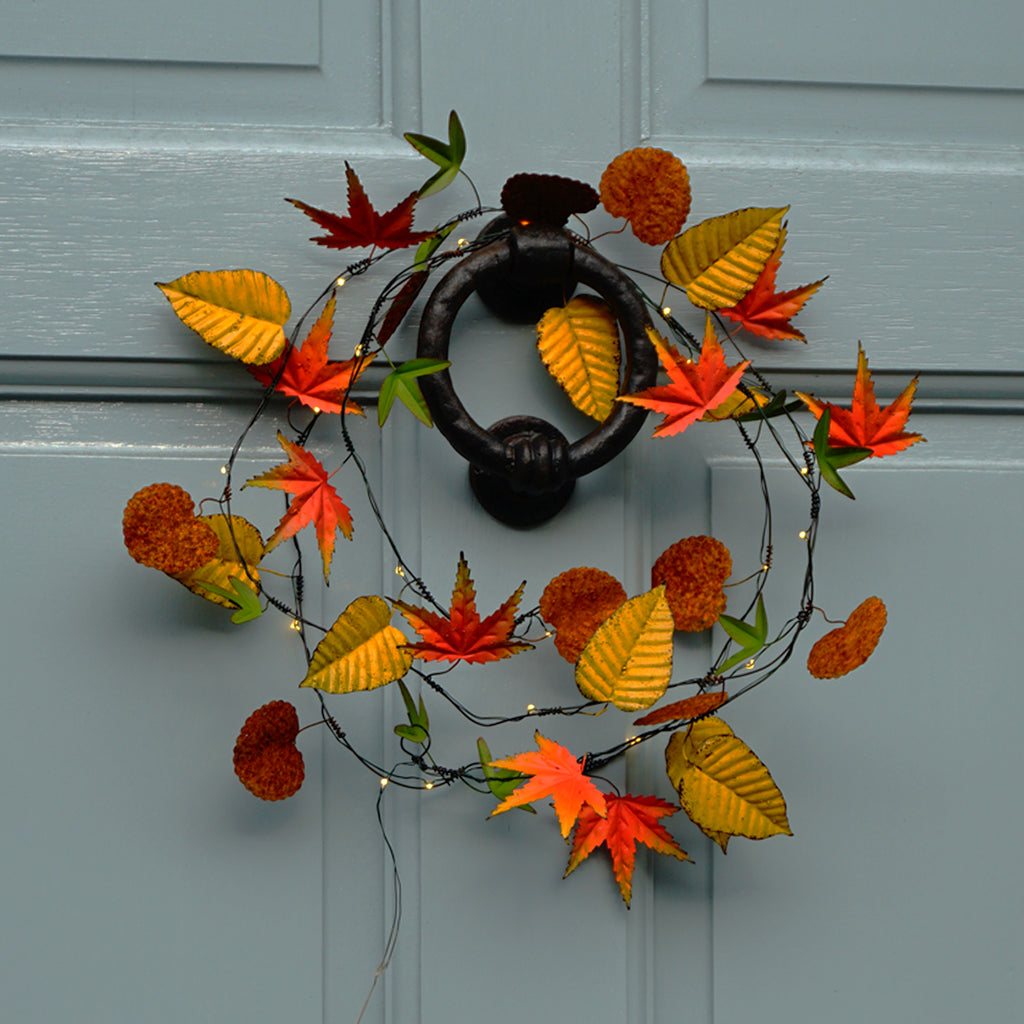 Autumn Leaves decorative lights- home decorations