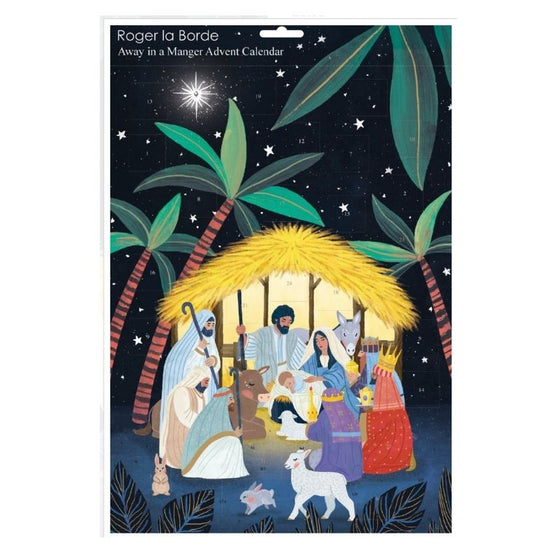 Away in a manger -  Advent calendar