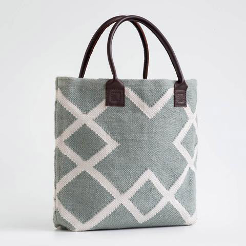 Juno Shopper Bag in Dove Grey