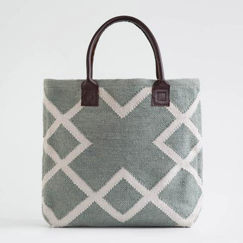 Grey Juno Shopper Bag- made from re-cycled plastic bottles