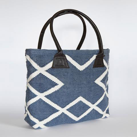 Juno Shopper Bag in Blue