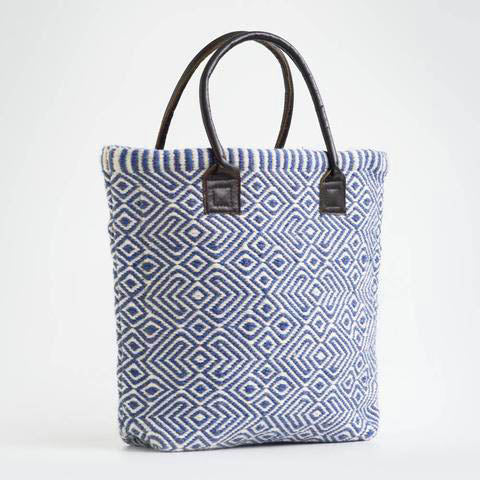 Provence shopper bag in Blue