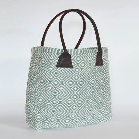 Teal shopper-Red Hen Trading