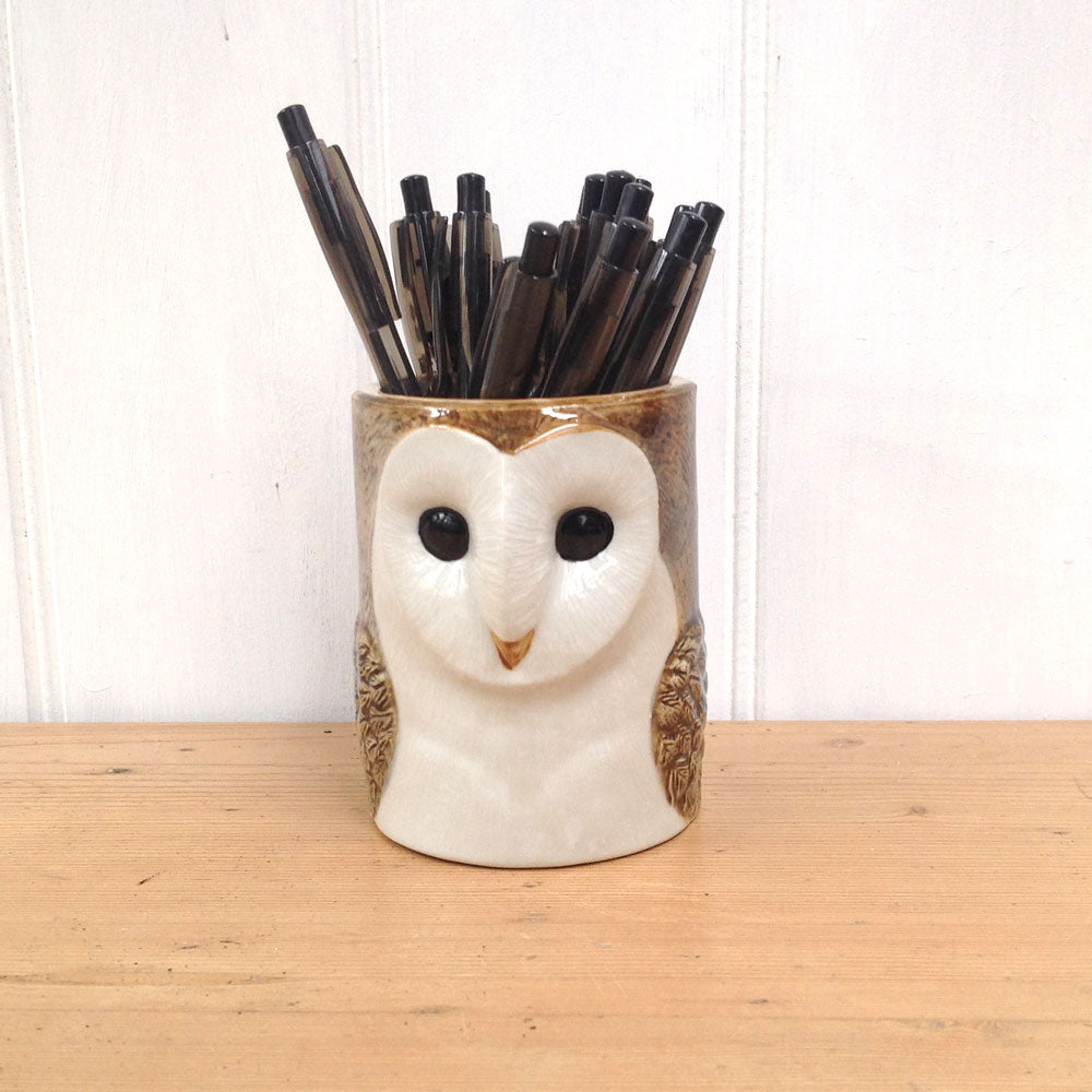 Owl Pencil Pot