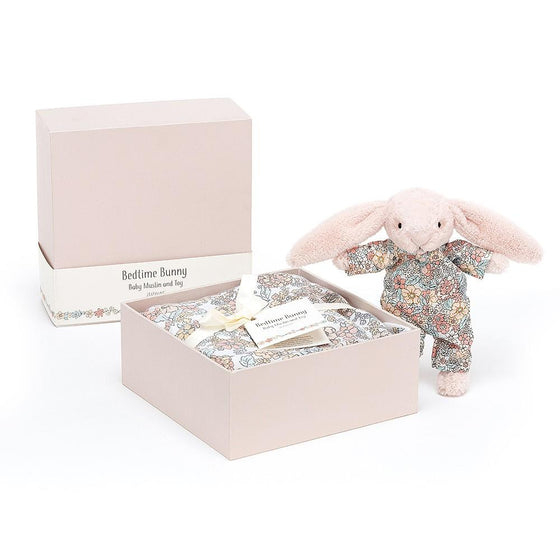 Bedtime Blossom Bunny Gift Set by Jellycat