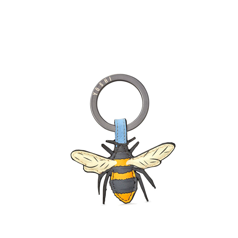 Bee Keyring - Leather