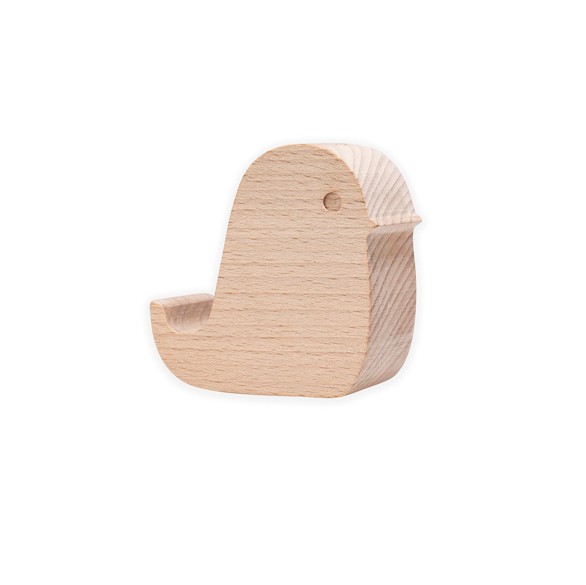 Wooden Bird Phone Stand