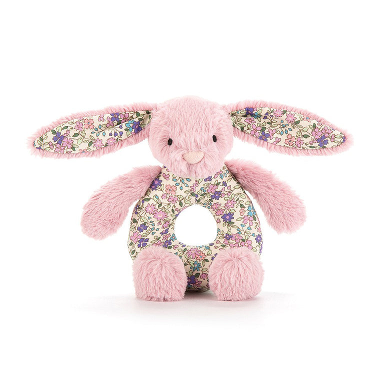 Blossom Bunny Grabber- baby toy