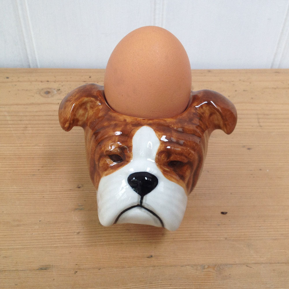 British Bull Dog Egg Cup
