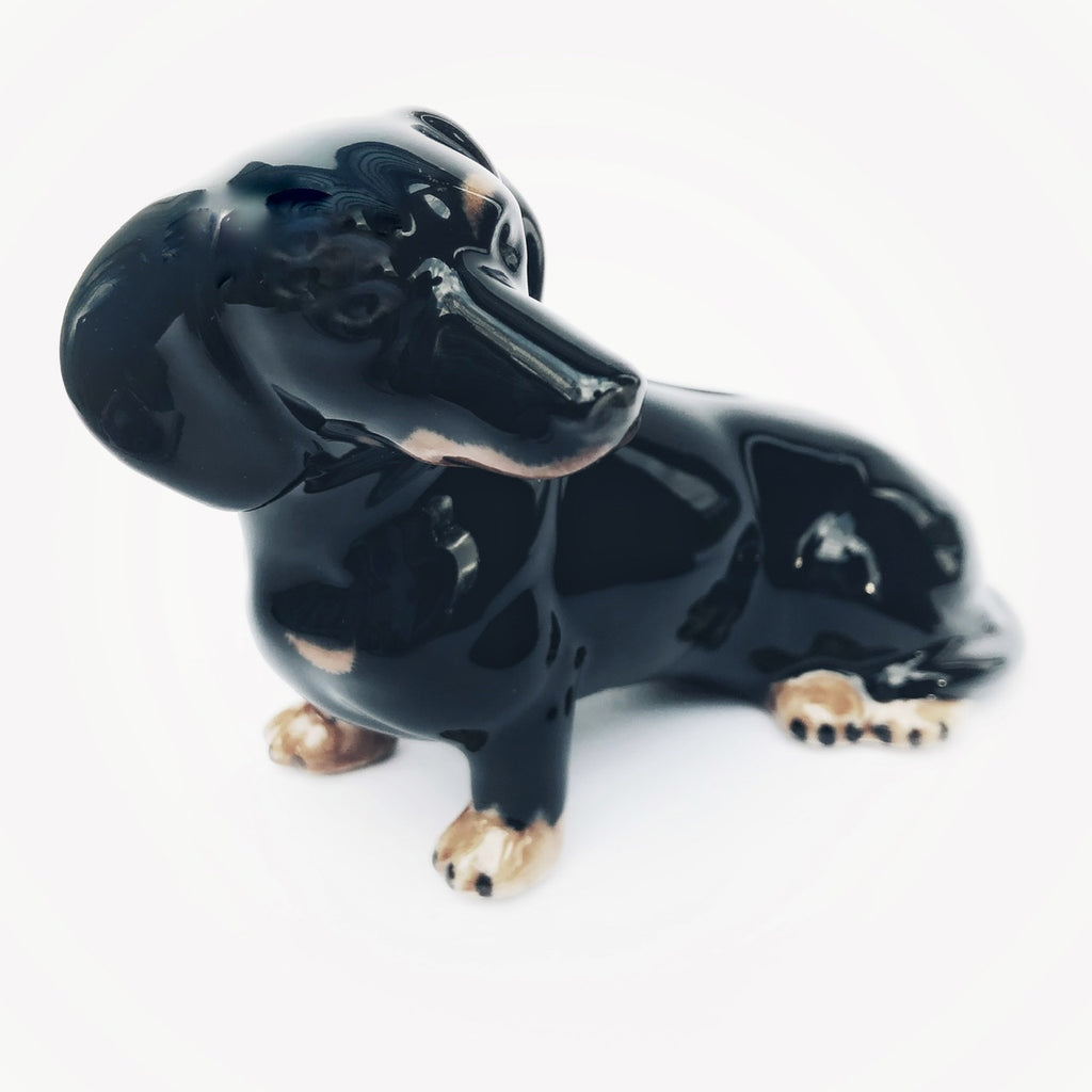 Dachshund Dog Money Box